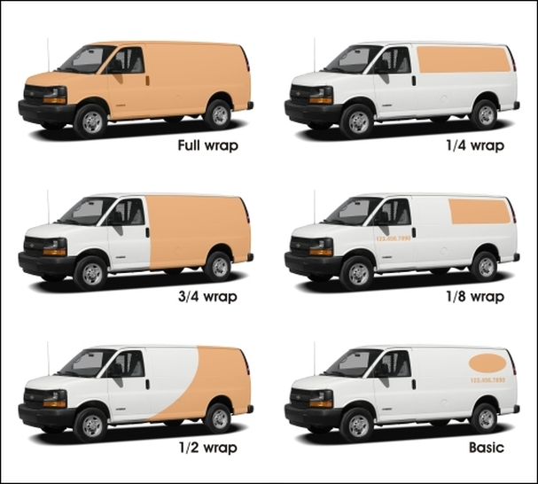 Vehicle Wrap Examples